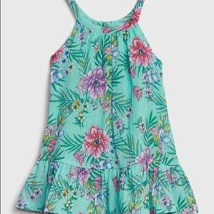 Gap baby floral halter dress